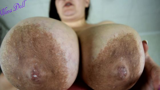 those huge fucking tits r on ur face