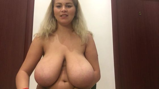 Dancing, playing with my boobs and tittyfucking