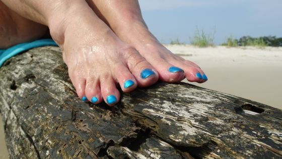 Beach Feet Fetish