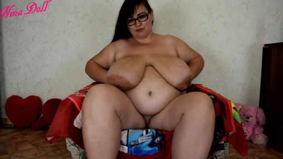 JOI masturbation and huge boobs by BBW