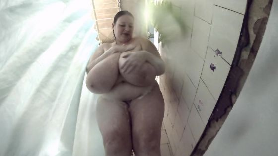 Intimate shower 42P boobs (got bigger)