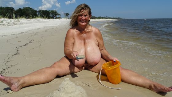 Beach Boob Sand Castle
