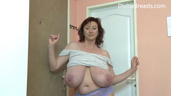 Milf Janet Big Boobs from Divine Breasts