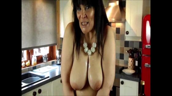 STRIPTEASE IN THE KITCHEN