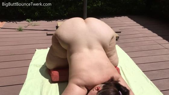 Mia Phat Butt Outside Jiggle