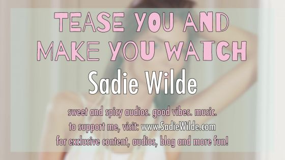 Tease You And Make You Watch Erotic Audio