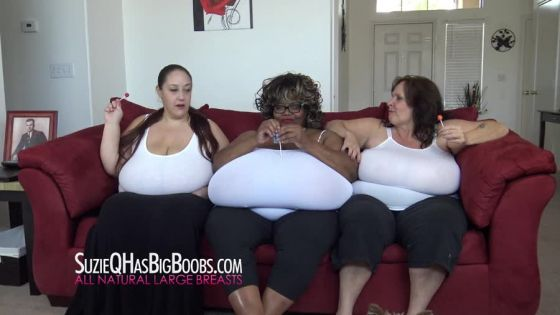 BBW Suzie 44K Norma Stitz and Monique Macromastia Breasts