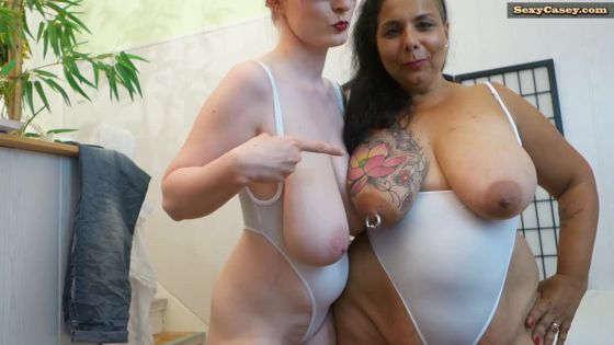 Big tit girls photoshoot