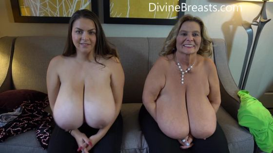 Alaura Grey and Sarah 50M Big Tits Players