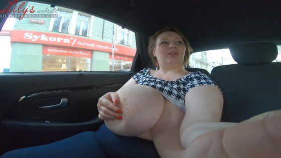 Driving Around And Masturbating