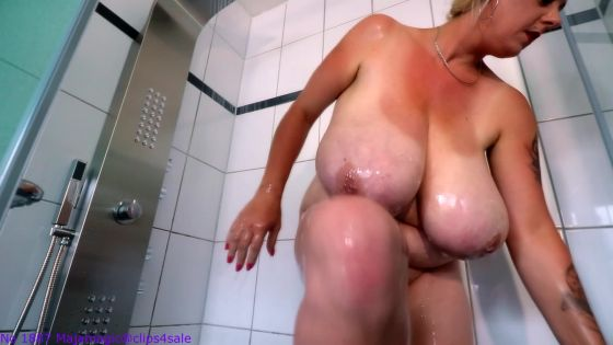 Emilia full naked in the Shower