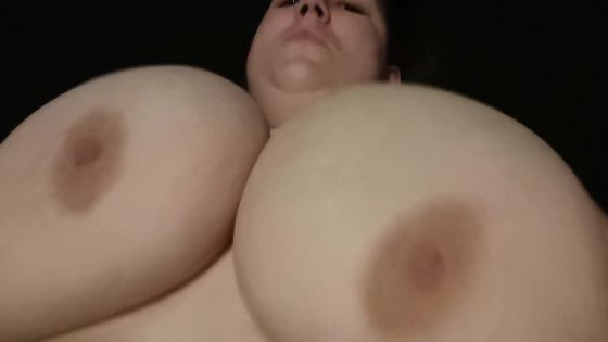 part 1 SHERLY MASSIVE shaking her boobs