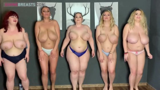 Big Boobs Tit Clapping Group