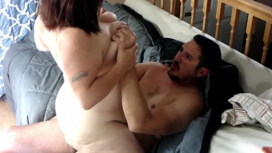 Sexy BBW Fucked on a Couch