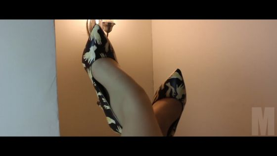 M - Designer Leatherette Stiletto Pump