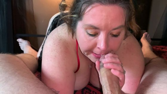 Sexy BBW Romantic 4K Cock Sucker