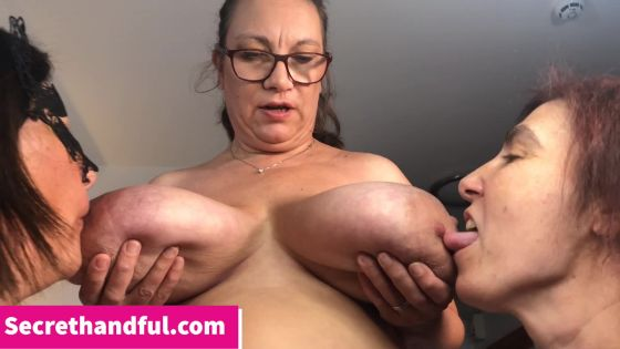 Huge Boob Threesome