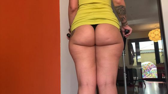 Treadmill JOI - Ass worship