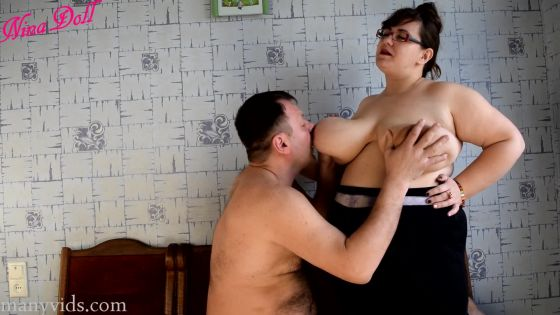compilation of boob playing with my ex
