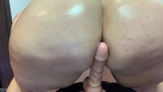 BBW Teasing your dick with my ass