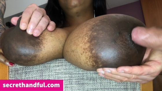 Ebony Mumba in lick up that spunk