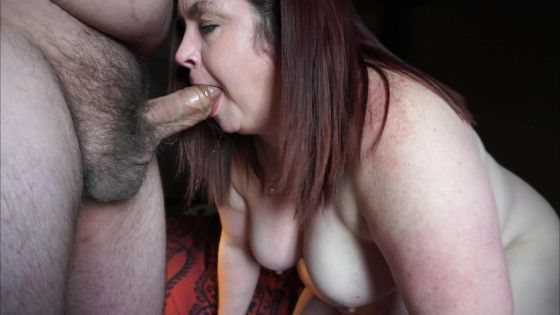 Sexy BBW Wonder Cock Sucker