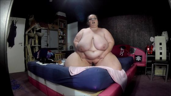 big boobed SSBBW fucking and riding BBC